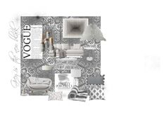 Grey is the new black by spacecraftinteriors on Polyvore featuring polyvore, interior, interiors, interior design, home, home decor, interior decorating, Moooi, Safavieh, Williams-Sonoma, Thro, contemporary, greyisthenewblack and spacecraftinteriors