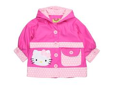 Western Chief Kids Hello Kitty Ruffles Jacket (Toddler/Little Kids)