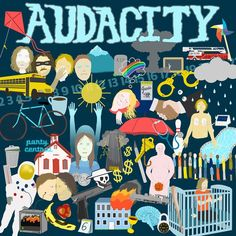 Audacity - Hyper Vessels [Green Marble Vinyl]