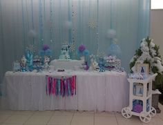 Frozen Birthday Party Ideas   Photo 1 of 9   Catch My Party