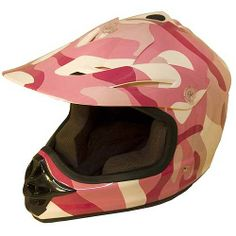 MXC Pink Camo Youth MotoCross Helmet #motocrossgirls #christmasgifts