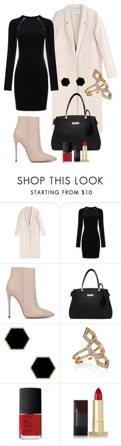 """""""Winter High Street Fashion"""" by predilectionist ❤ liked on Polyvore featuring Acne Studios, T By Alexander Wang, Akira Black Label, Janna Conner Designs, Accessorize, NARS Cosmetics and Kevyn Aucoin"""