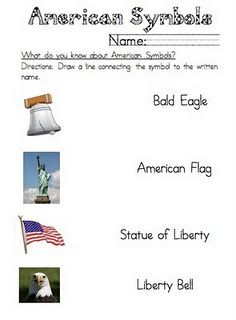 116 Best Teaching - AMERICAN SYMBOLS images in 2017 ...