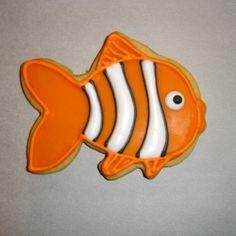 Nemo/Clownfish Cookie