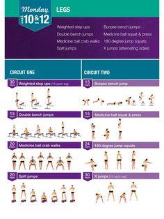 Aperçu du fichier Kayla Itsines - Exercises and training plan.pdf diet workout 12 weeks