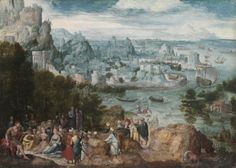 Landscape with Saint John the Baptist by Herri Bles.  Collection CMA, 1967.20
