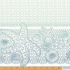 Kim Andersson - Tidal Lace - Sea Star in White