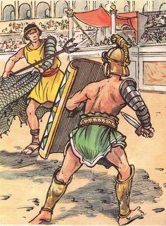 Combats de gladiateu
