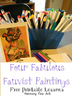 Fauvism Lesson Plans and Printable – From the Archives
