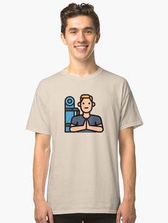'Yoga Gym Fit Healthy Boy Hobby Avatar' T-Shirt by passionemporium Biker Love, Avatar Cartoon, Yoga Gym, Tshirt Colors, Wardrobe Staples, Cute Boys, Neck T Shirt, Notebooks, Classic T Shirts