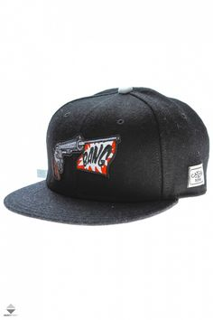 8d3a5fa230b Czapka Cayler And Sons Bang Black Gray · SnapbackSzary