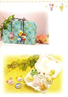 Master Collection Chiku Chiku 01 Felt Wool Doll by MeMeCraftwork