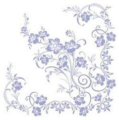 50 Servietten, stoffähnlich, Airlaid 1/4-Falz 40 cm x 40 cm Ornaments Flieder Weiss Lavendel Lila für Hochzeit von xy, http://www.amazon.de/dp/B00BDUNO4K/ref=cm_sw_r_pi_dp_K3b3sb00Z1TM9