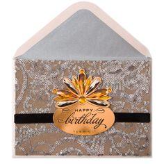 Sequin Fabric with Metallic Gems Price $9.95
