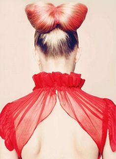red red red. modern shapes. summer