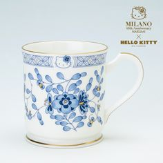 Narumi Milan Hello Kitty A Mug Cup Box Set Blue Sanrio Japan Limited | eBay