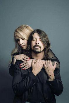 Stevie Nicks & Dave Grohl 2013