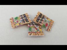 Polymer Clay Bags With Gummi Bears Tutorial