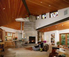 Project 4 - contemporary - family room - santa barbara - Giffin & Crane General Contractors, Inc.