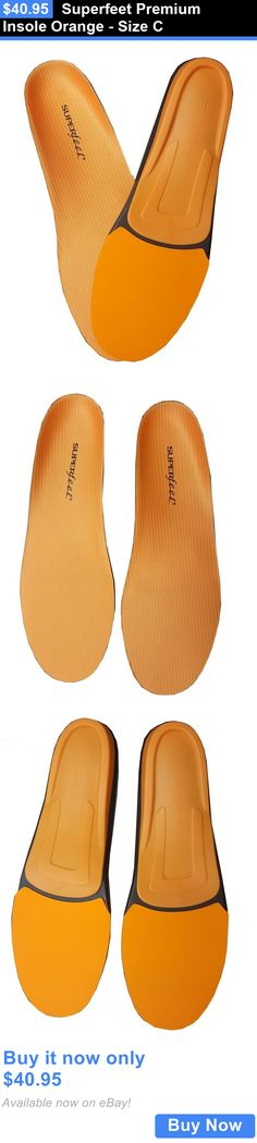 Other Orthopedic Products: Superfeet Premium Insole Orange - Size C BUY IT NOW ONLY: $40.95