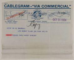 Clark, Robert Sterling, et al.Sterling and Francine Clark Papers: Correspondence Series. 1901-1957. CAI ARC 2006.01.02. Sterling and Francine Clark Art Institute. Library