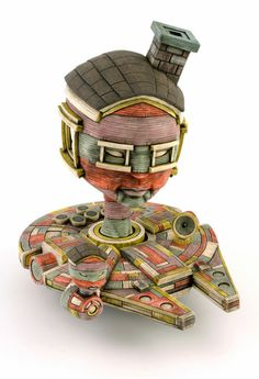 Pop Culture Toy Sculptures by Calvin Ma | Inspiration Grid | Design Inspiration