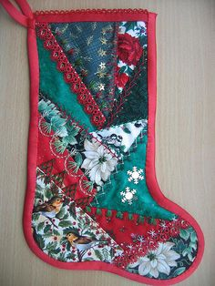 I'm dreaming of........... | Right side of my first stocking… | Flickr