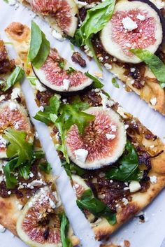 Fig + Caramelized Onion flatbread