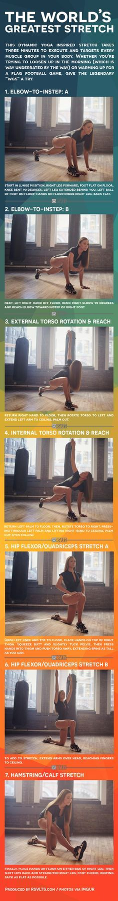 The World's Greatest Stretch [Infographic]