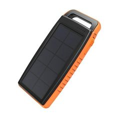Buy Solar Charger RAVPower Outdoor Portable Charger Solar Power Bank Dual USB External Battery Pack Power Pack With Flashlight Splashproof, Dustproof, Solar Panel Charging, Input) At Off For November 2019 Solar Charger, Solar Battery, Lead Acid Battery, Portable Charger, Phone Charger, Solar Lights, Solar Panel Cost, Best Solar Panels, Solar Panel System