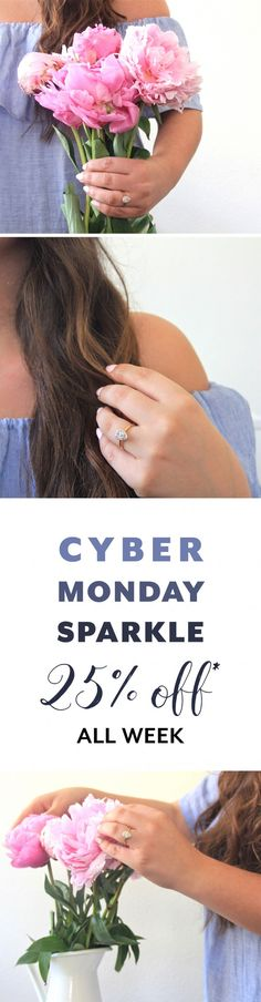 [Ad] Get some Cyber Monday sparkle!  Click here to browse hundreds of James Allen diamond engagement rings. Wedding Dreams, Dream Wedding, Wedding Day, Young Love, Over The Moon, James Allen, Up Girl, Innovation Design, So Little Time