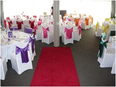 rainbow wedding | Guide to Having a Rainbow Wedding : wedding color schemes Rainbow8