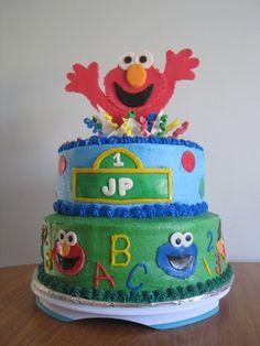 Elmo sesame street cake wwwcharleyandthecakefactorycom charley