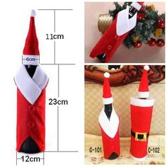 Christmas Wine Bag Manufacturers Selling Christmas Gifts Red Christmas Decoration For Red Wine Cheap Merry Christmas Party Decoration From Cc_bridal, $15.33 | Dhgate.Com