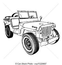 m170 ambulance for the jeep coloring book