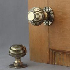 Brass Beehive Door Knobs | Architectural Decor