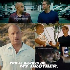 I notice that PW & Vin Diesel always be amazing to work together for many years. That is how they become real brothers. Fast And Furious Party, Fast And Furious Memes, Fast Furious Series, Fast & Furious 5, Furious Movie, The Furious, Paul Walker Movies, Rip Paul Walker, Cody Walker