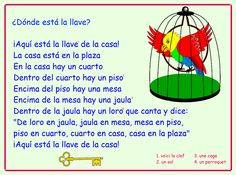 Me encanta escribir en español: la casa