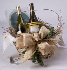 Holiday Wine Basket