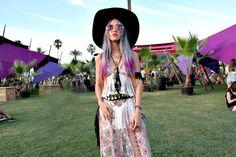 Stardust Bohemian: Women's Retro Hippie Oversize Round Sunglasses With Colorized Gradient lenses 9578