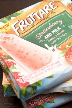 Fruttare Bars Strawberries and Milk www.spaceshipsandlaserbeams.com