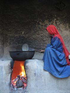 Tajik Woman In Badakhshan, Afghanistan.