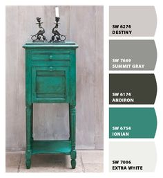 Grays & Green  Paint colors from Chip It!