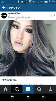 Granny Hair... Gray..