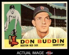 1960 Topps #520 Don Buddin Red Sox EX/MT #RedSox