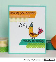 Hero Arts Cardmaking Idea: Tweet Birthday
