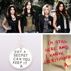 Can we just take a moment to realize that PLL fans have waited 5 seasons to figure out who A is I just want to give up on the show but lord knows that'll never happen. Pretty Little Lies, Pretty Little Liars Quotes, A Pll, Pll Quotes, Youre Mine, Best Shows Ever, Favorite Tv Shows, Cool Outfits, Movies