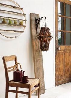Original Salvaged Wood Decor Ideas