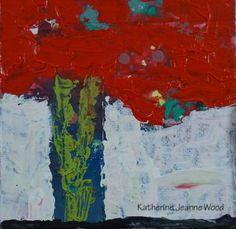 Katherine Jeanne Wood - 4x4 Flower Series No 70 01