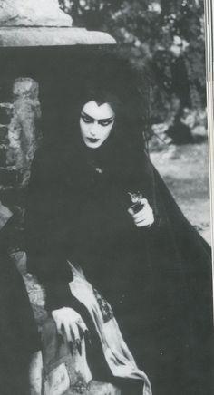 .#raven queen. Eye makeup.